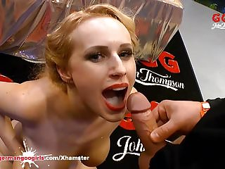 Chessie Kay and Angel Wicky Big Tits and Cum GermanGooGirls