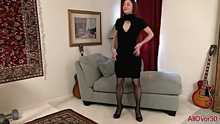 Sexy Elegant Evane Nordstern Compilation from AllOver30