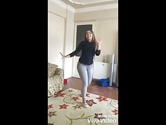 Cute Algerian girl dance in tight jeans's Thumb