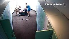 Hidden camera in the locker room 10 seper girls