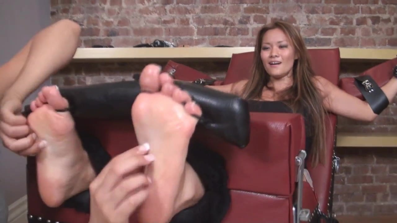Ebony French Pedicure Feet