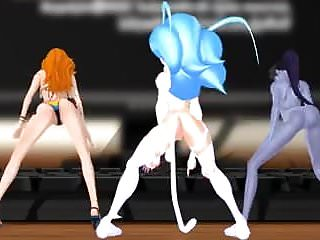 Mmd Felicia Nami And Widowmaker Sexy Twerk