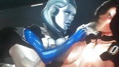 Mass Effect EDI and Miranda Lawson sop cum tribute