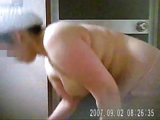 Hidden Cam - My wife 2