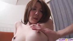 Yuna Hirose enjoys a hard pounding and - More at Slurpjp.com
