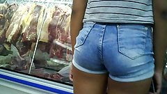 novinha de shortinho atolado dlc teen hot shorts in pussy 's Thumb
