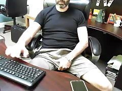 Boss Daddy is horny at work