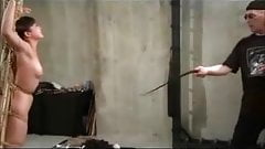 Tied Asian Schoolgirl Whipped And Toyed