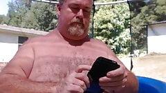 Naked Dad Pool Play