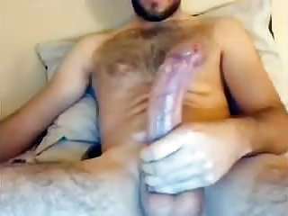 English Str8 Guy with Big Veiny Dick Blows Creamy Load #139