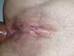 Close up anal on holiday