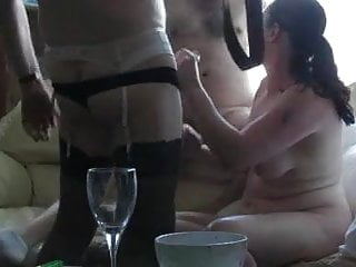 3 some cock sucking and fucking doggy style