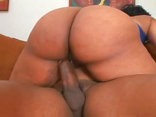 Big Booty Ebony Getting Fucked From the Back