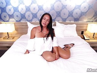 Tan Milf Gets Young Dick