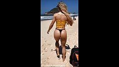 Amazing fitness body - perfect round ass