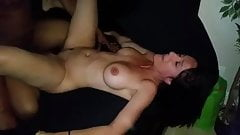 Hotwife shared with bisexual bbc lover
