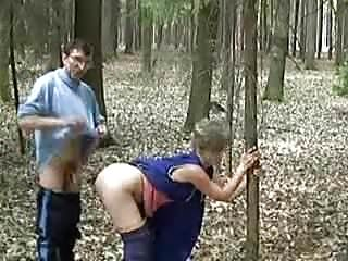 grandma fucking outdoor - 3
