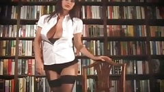 Sophie Howard very sexy librarian
