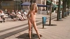 Cute Blonde Nude In Public, Classic! by triplextroll