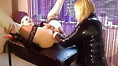 TS Densie Love and TV Karin 7 in the nasty Bitch