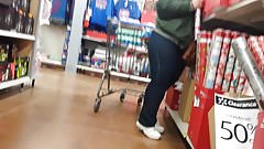 CANDID PAWG BBW IN TIGHT JEANS