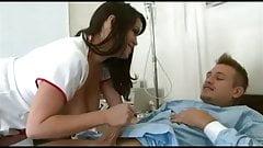 Sexy BBW Nurse with a hypochondriac Patient
