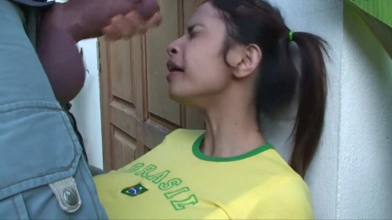 Cute Asian Bitch Sucking Monster Cock And Take All Cum