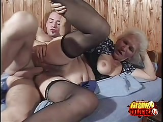 Preview 3 of Young Cock For A Horny Granny