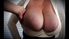 Grandmother Gets Her Big Titties Groped and Fondled
