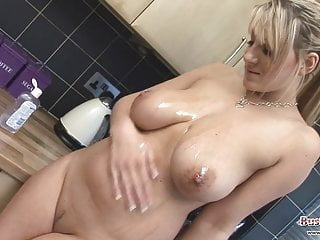 Lexy Big Tits Oil Cling Film Fun
