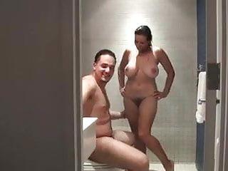 Busty milf seduces room service boy