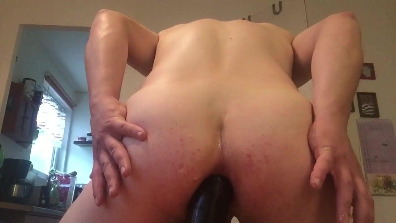 gay old man fucks gay man bareback and cums in him