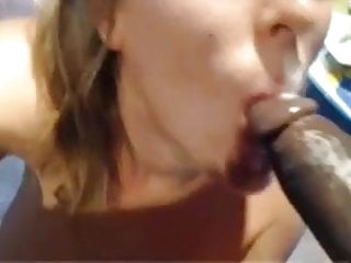 sexy white girl fuck suck black cock swallow & screaming