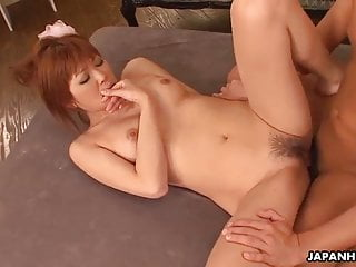 Yuno Hoshi getting her wet pussy fucked and creamed