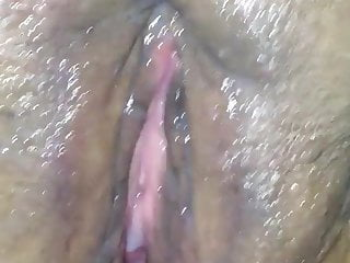 Latina plays with pussy & cumshot Pt. 2