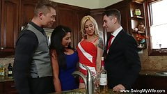 Group Sex Fun From England's Thumb