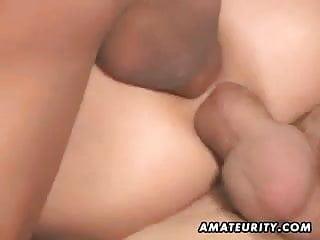 Amateur girlfriend homemade anal double penetration