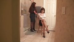 Wife Ohphelia Catches Sandra Dressing!