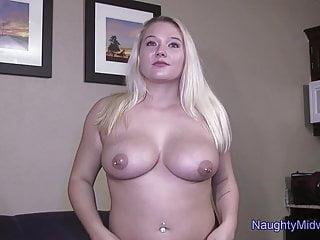 Skye - 19 yo. Big Tit Blonde First Porn