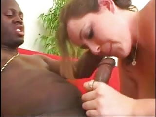 Fat BBW Ex GF sucking, riding, fucked in the ass by Black BF
