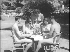 German Vintage Nudist Naturist From 1940's