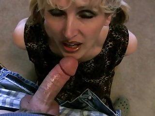 Milf Fingers Herself And Sucks Cock