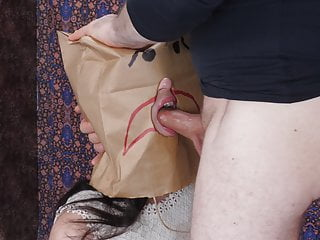 Bagged and gagged: brutal facefucking