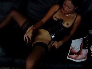 Jakarta Milf Masturbating To My Cock