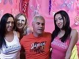 Horny Sluts Sucking and Fucking in Orgy