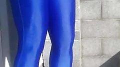 hind shiny leggings