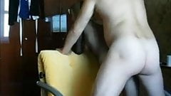 Amateur milf ass creampied on real homemade