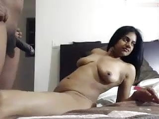 NRI girl on webcam fucking with his partner