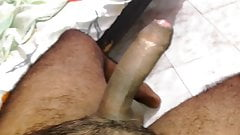 Huge load milking Sri Lankan handjob