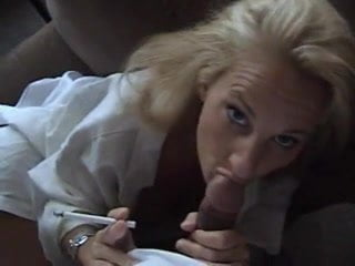 FREE PREVIEW: MILF blowjob until cum in her mouth